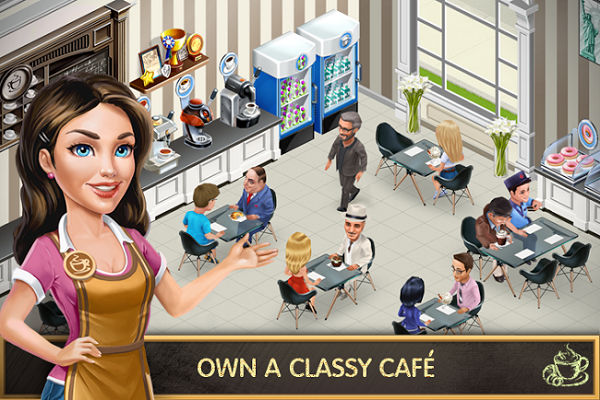 My Cafe Recipes Stories MOD Apk OBB Data Unlimited Money Android Games Download