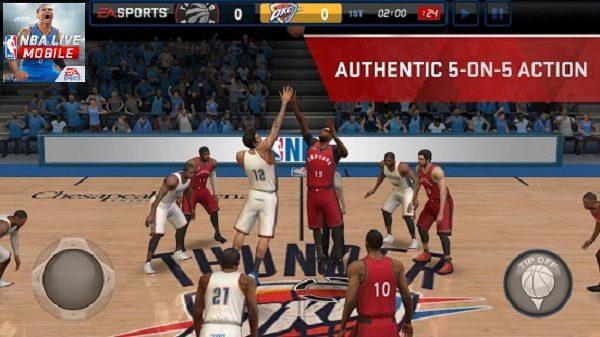 2017 NBA LIVE Mobile Basketball Apk for Android