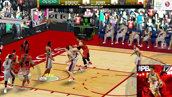 PBA2K17 Apk OBB Data Full Android Games Download