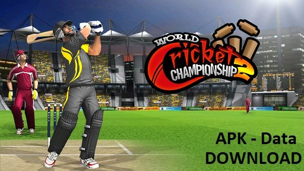 World Cricket ChampionShip 2 MOD Unlocked APK DATA Download