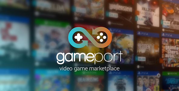 GamePort Video Game Marketplace Script Download