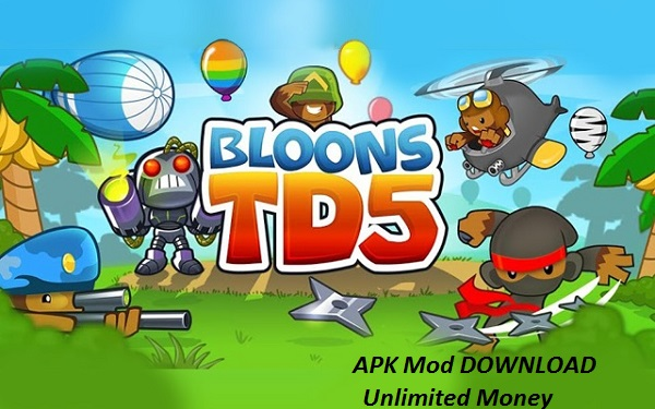 Bloons TD 5 MOD Unlimited Money free on Android Download