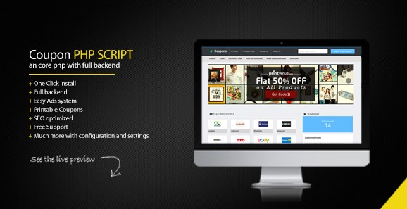 Coupon Portal PHP Script Free CodeCanyon Download