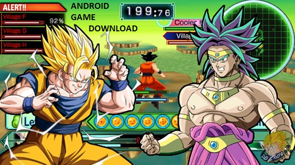 Dragon Ball Z Shin Budokai Another Road iso PSP for Android Download