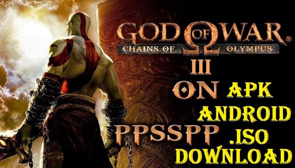 God of War 3 iSO Apk for Android Game Download