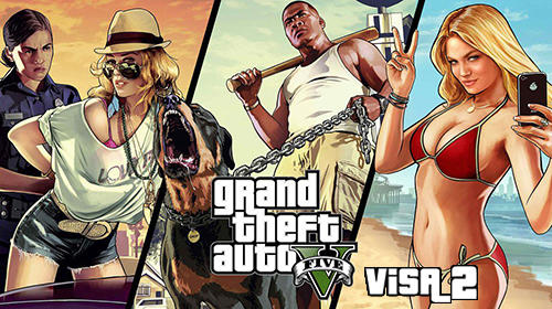 Grand Theft Auto 5 Visa 2 APK Mod Data for Android Download