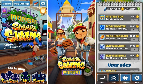 Subway Surfers Mod Apk Unlimited Keys Coins Free Download