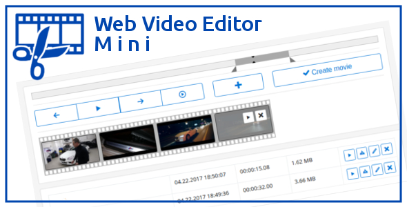 Web Video Editor Mini Free CodeCanyon Download