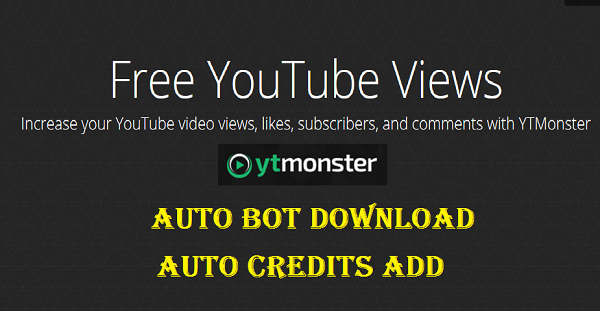 YTmonster-Auto-Credits-add-BOT-Download