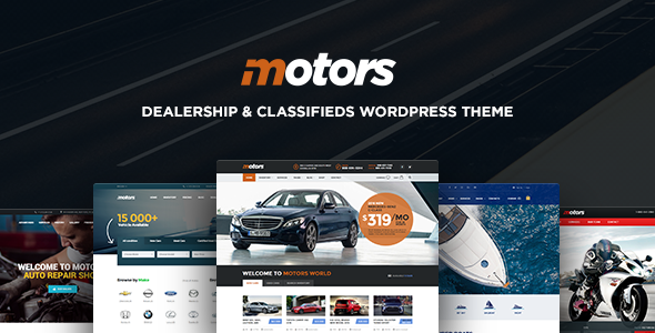 Motors Automotive, Cars, Vehicle, Boat Dealership Free CodeCanyon Download