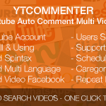 YTCommenter – Youtube Auto Comment Multi Videos Download