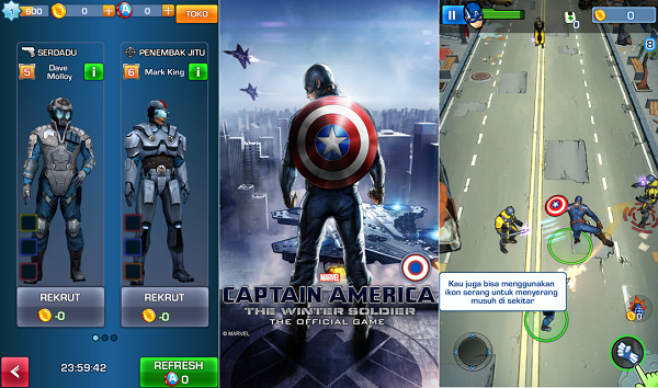 Captain America The Winter Soldier Apk Data Android Game Download