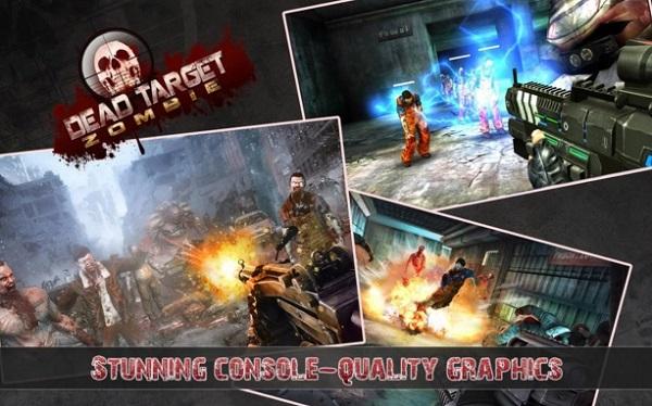 Dead Target Zombie Mod Apk Unlimited Money Download