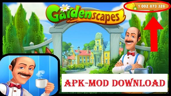 Gardenscapes-New-Acres-Mod-APK-Unlimited-Gold-Money-Download