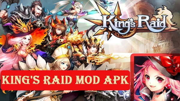 Kings Raid MOD APK for Android Download