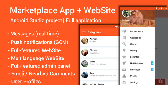 My Marketplace – Marketplace App WebSite Nulled Script Download