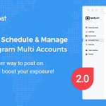 NextPost v2 Instagram Scheduler Auto Post Schedule Manage Instagram Multi Accounts PHP Script Download