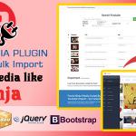 Ninja Media Bulk Youtube Importer Plugin Nulled Script Download