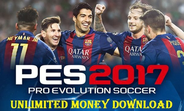 PES 2017 APK MOD Android Pro Evolution Soccer 17 Download