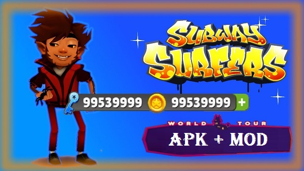 Subway Surfers Apk Mod Unlimited Money Coins Keys Download