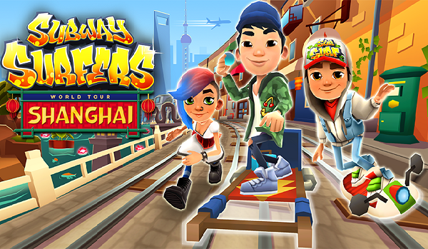 Subway Surfers Shanghai Modded Apk Unlimited Coins Download