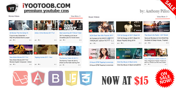 iYOOTOOB -Premium-YouTube-CMS-Script-Download