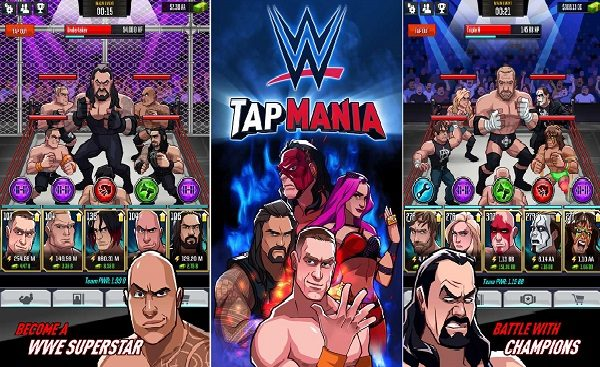 WWE Tap Mania MOD APK Lots Of Money Download
