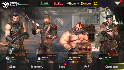 Dead Warfare Zombie Mod Apk Free Download