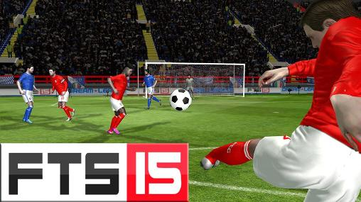 First Touch Soccer 2015 - FTS 15 Apk Obb Data Mod For Android