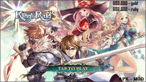 Kings Raid Mod Apk Game Download