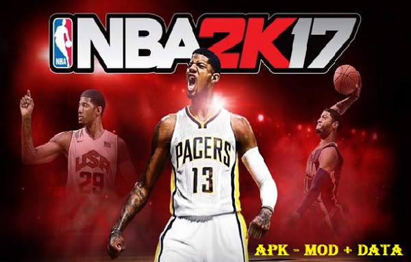 NBA 2K17 Apk Mod OBB Data Free Download