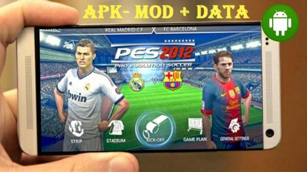 PES 12 Pro Evolution Soccer 2012 Apk Mod Downlaod
