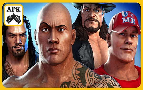 WWE Champions Free Puzzle RPG MOD APK Android Game Download
