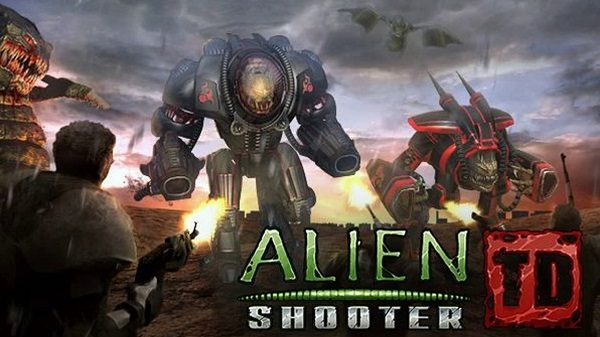 Alien Shooter TD Mod Apk Obb Data Unlimited Gems for Android