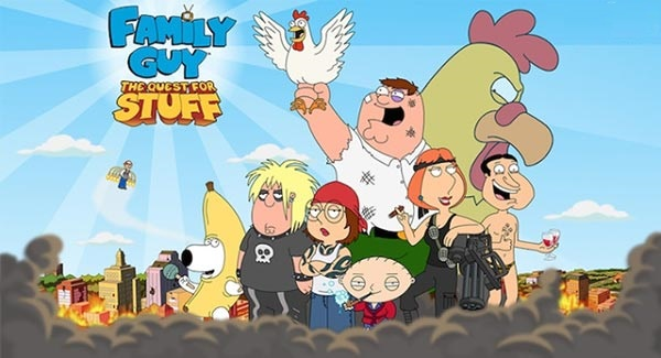 Family Guy The Quest for Stuff Mod Apk Download
