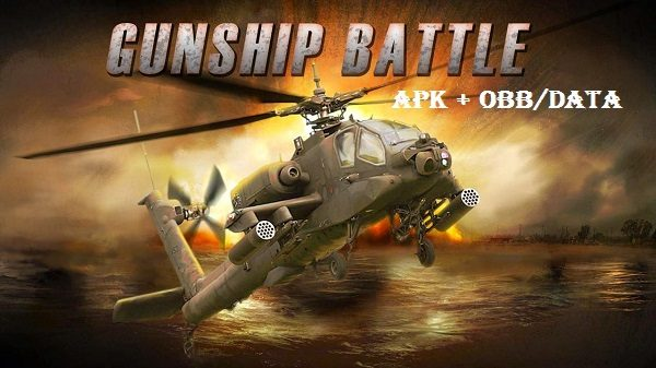 Gunship Battle Helicopter 3D APK Obb DATA Download