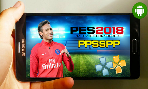 PES 2018 PPSSPP PSP PC ANDROID Obb Data Download