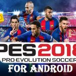 PES 2018 iSO PPSSPP for Android Download
