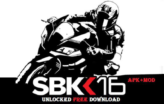 SBK16 Official Mobile Game Mod Apk OBB Data Unlocked Download