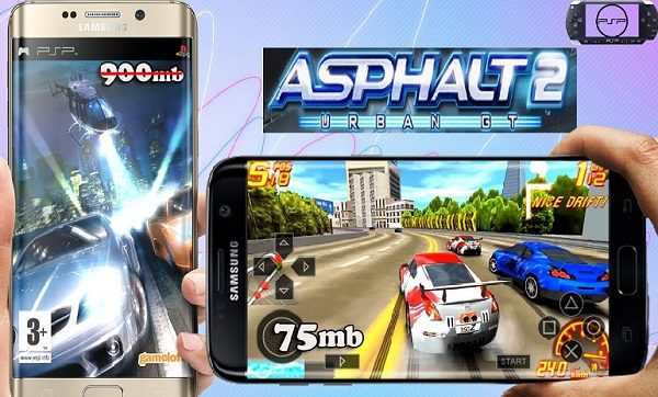 Asphalt Urban GT 2 iSO Android PPSSPP Download