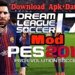 DLS 18 - Dream League Soccer mod Pes 2018 Apk Data Obb Download