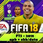 FTS Mod FIFA 18 Ultimate Apk + Data Obb Download
