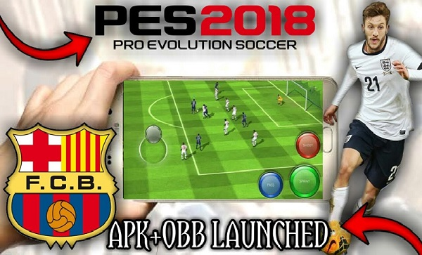FTS Mod PES 2018 Apk Data Obb Download