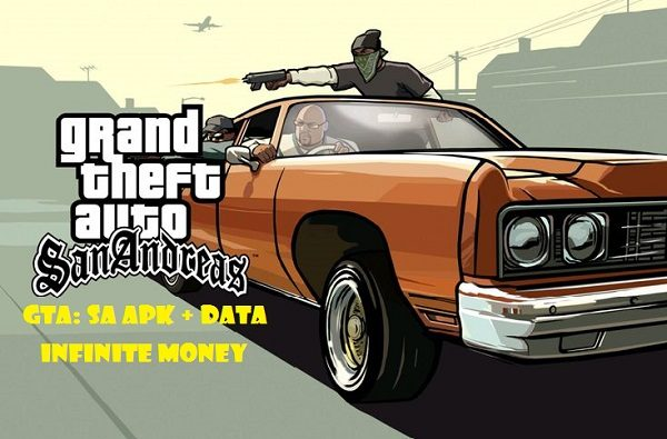 Grand Theft Auto: San Andreas - GTA: SA APK + DATA Infinite Money Android Game Download