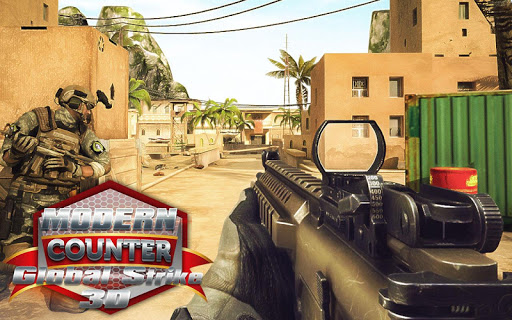Modern Counter Global Strike 3D Mod Apk Unlimited Money Download