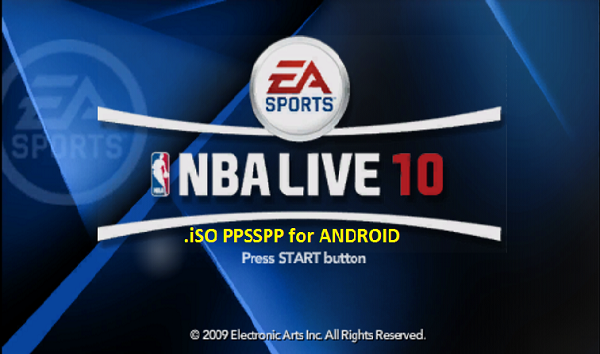 NBA Live 10 iSO PPSSPP Android Download