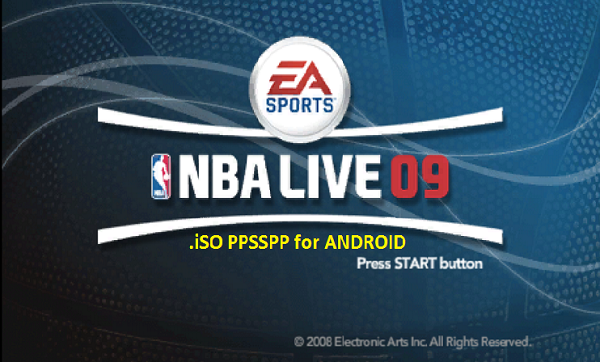 NBA Live 9 iSO PPSSPP Android Download