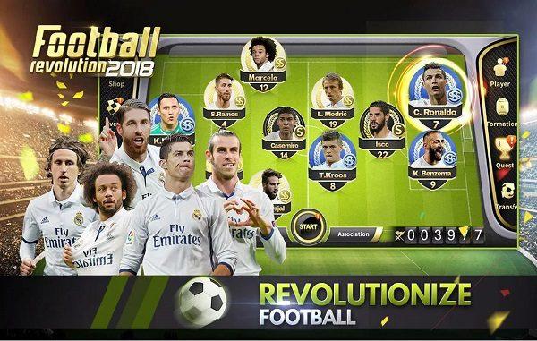 Soccer Revolution 2018 Android Mod APK Download