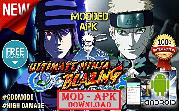 Ultimate Ninja Blazing Mod Apk Hight Domage Download