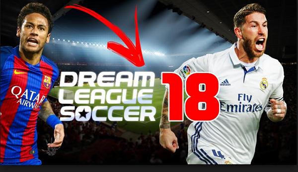 DLS 18 - Dream League Soccer 2018 APK Mod Obb Data Download